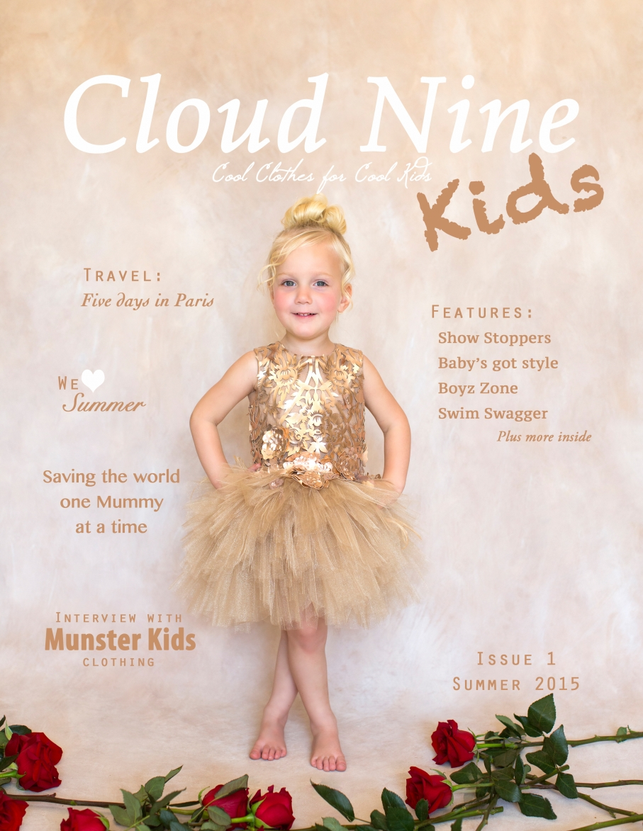 Cloud Nine Kids Magazine Kids Fashion Magazine Cloud Nine